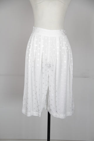 Asos White Polka Dot Shorts