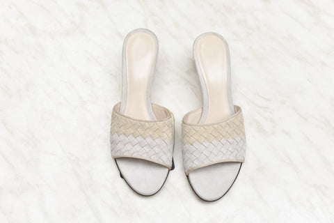 Bottega Veneta Leather Slides