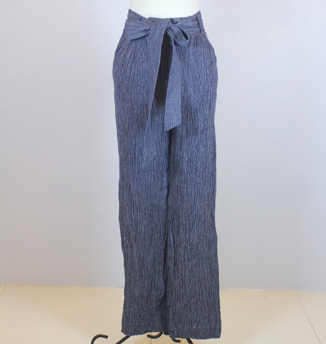 Milly Grey Textured Trousers and Belt