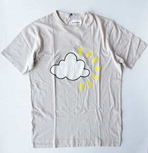 Pink Cloud Printed Tee