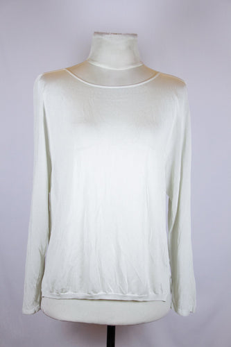 Ined White Sweater