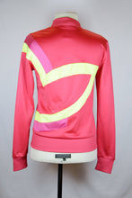 Adidas Pink Athletic Jacket with Neon Design