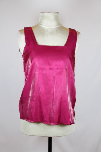 Zara Pink Low Neck Tank