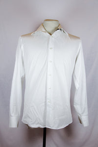La Camiceria White Long Sleeved Polo