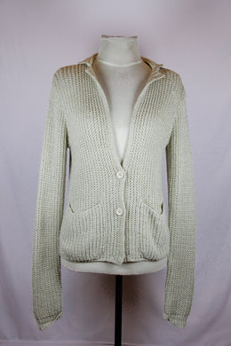 Angouleme Cream Knit Cardigan