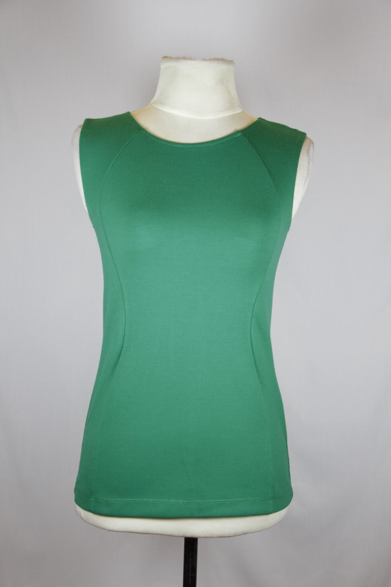 Philosophy Green Sleeveless Blouse