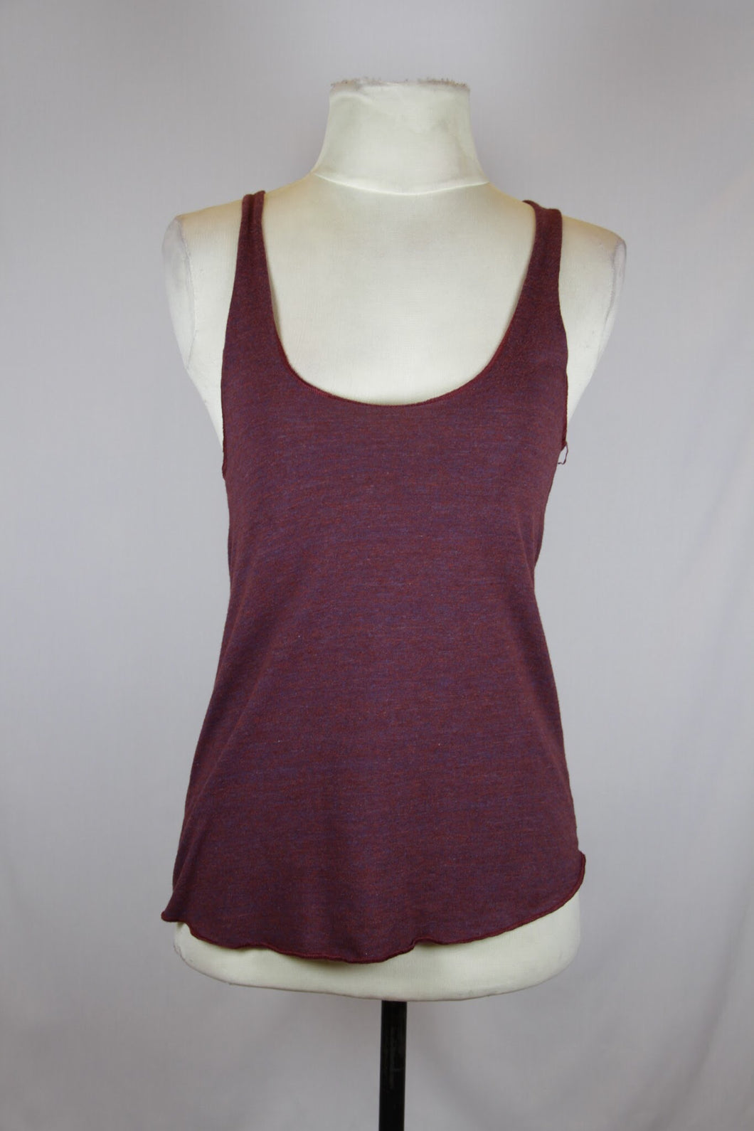 N/A Red Racerback Tank