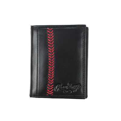 Seams Trifold Wallet (Black)