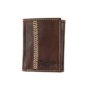 Seams Trifold Wallet (Chocolate)