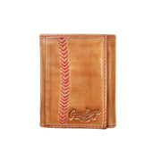 Seams Trifold Wallet (Tan)