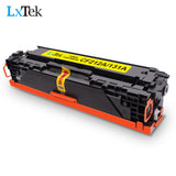LxTek 4 Pack Compatible for HP 131A 131X CF210X CF210A CF211A CF213A CF212A Toner Cartridge Used in HP Laserjet Pro 200 Color M251nw M251n MFP M276nw M276n MF624Cw MF628Cw MF8280Cw LBP7110Cw Printer