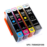 LxTek Compatible 364XL Ink Cartridges Replacement for HP 364 364XL use with HP Deskjet 3070A 3520 OfficeJet 4620 4622 Photosmart 5510 5512 5515 5520 5524 6510 6520 6515 7510 7520