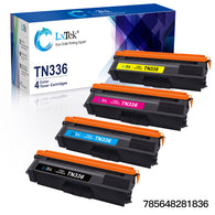 LxTek Compatible Toner Cartridge Replacement for Brother TN336 TN331 to use with MFC-L8600CDW HL-L8350CDW HL-L8350CDWT MFC-L8850CDW HL-L8250CDN HL-4140CN MFC-L8650CDW Printer, 4-Pack