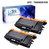 LxTek Compatible TN880 TN-880 Black Toner for Brother TN880 Toner Cartridge for Brother HL-L6200DW HL-L6300DW HL-L6200DWT HL-L6250DW MFC-L6800DW HLL6700DW MFC-L6900DW (2 Pack, High Yield 12,000 Pages)