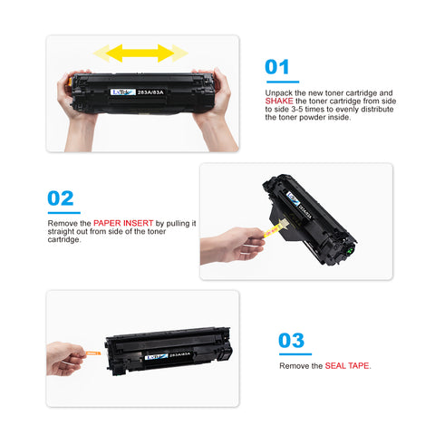 LxTek Compatible 83A Toner Cartridge Replacement for HP 83A