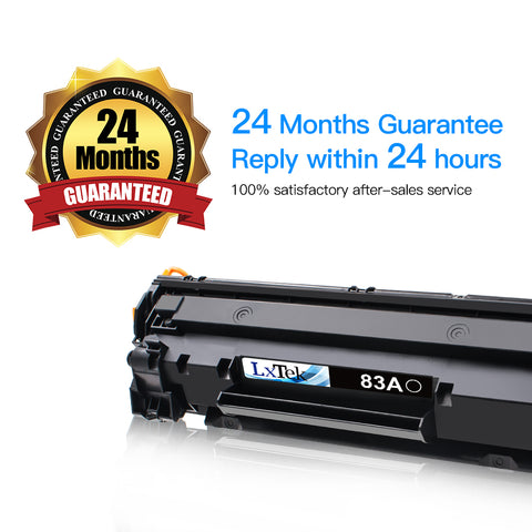 LxTek Compatible Toner Cartridge Replacement for HP 83A
