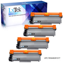 LxTek Compatible Toner Cartridge Replacement for Brother TN660 TN630 TN-660 TN-630 to use with HL-L2300D HL-L2320D HL-L2340DW HL-L2360DW MFC-L2720DW MFC-L2740DW DCP-L2540DW (Black, 4 Pack)