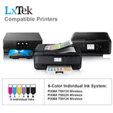 LxTek Compatible Ink Cartridge Replacement for Canon CLI-281XXL CLI 281 XXL 281XXL 281 XXL Ink Cartridge to use with  Pixma TS9120, Pixma TS8220, Pixma TS8120 Printer (1 Pack Photo Blue, High Yield)