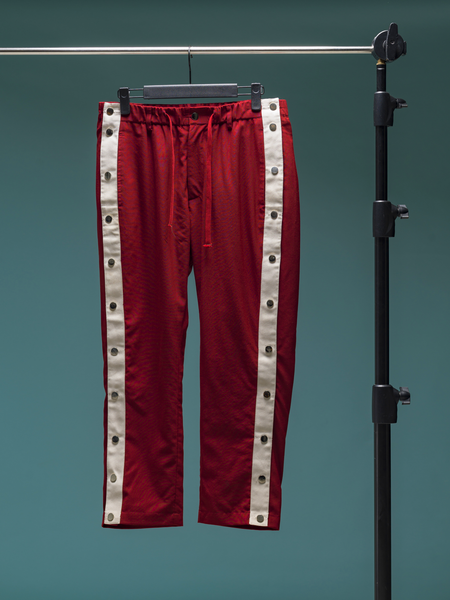 008 - The Trainer Pant (Burgundy)