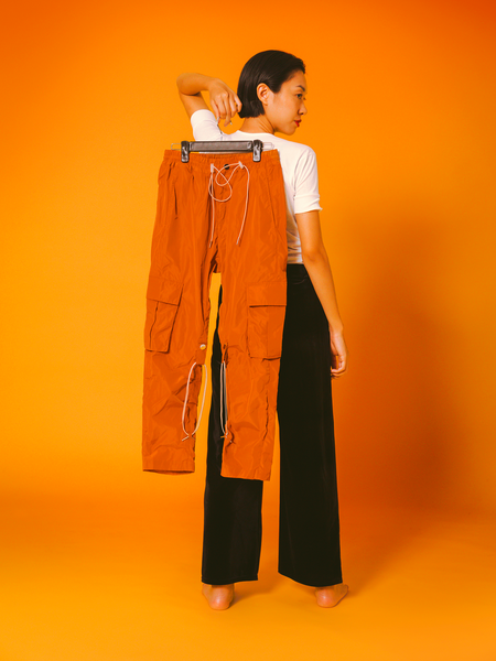 (20% off) 014 - The Drizzle Pant (Burnt Orange)