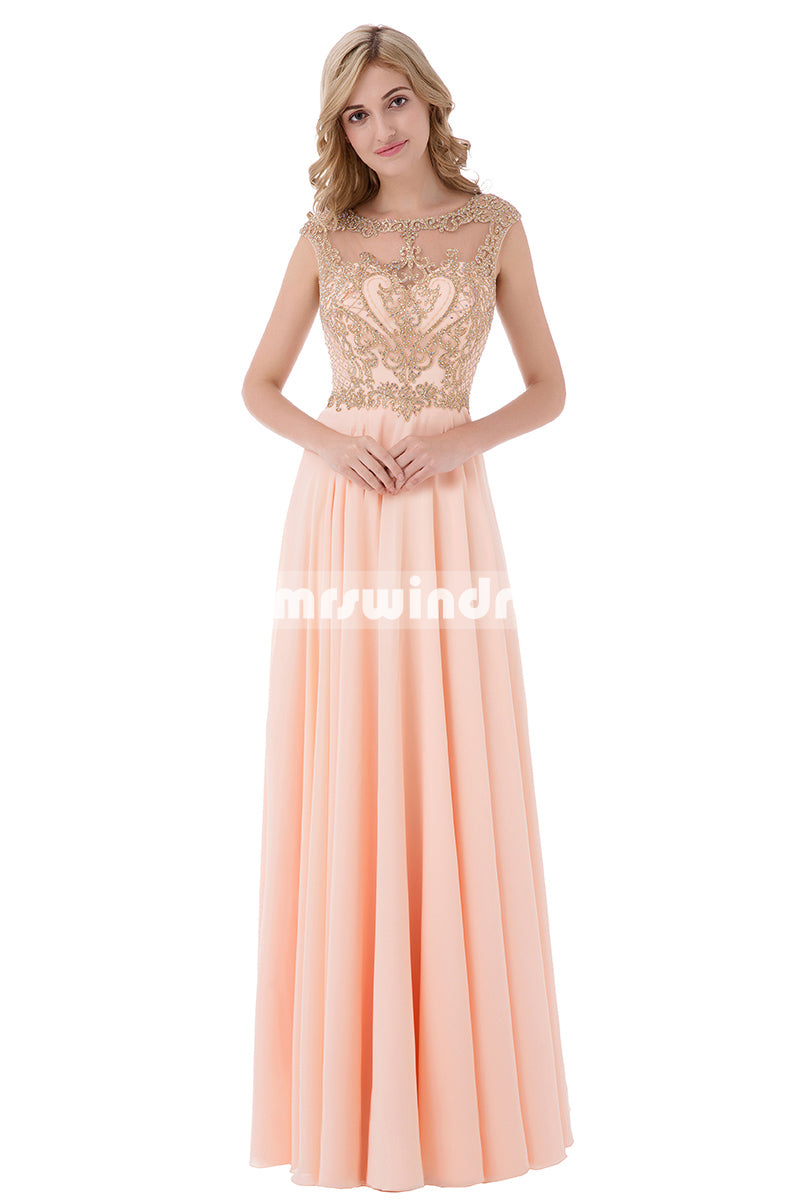 Simple Prom Dresses,Vintage Prom Gowns,Long Evening Dress, Evening dresses,LX475