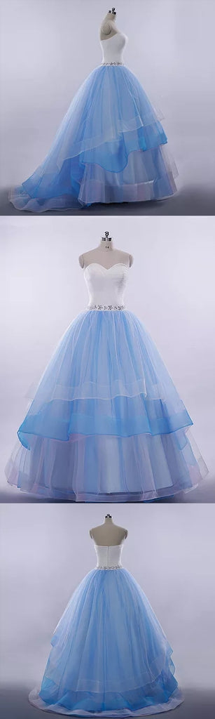 Beautiful Prom Dresses Sweetheart Ball Gown Long Prom Dress/Evening ...