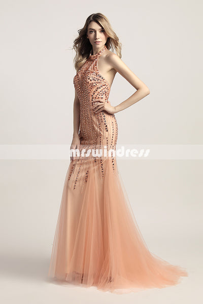 Simple Prom Dresses,Vintage Prom Gowns,Long Evening Dress, Evening dresses,LX437