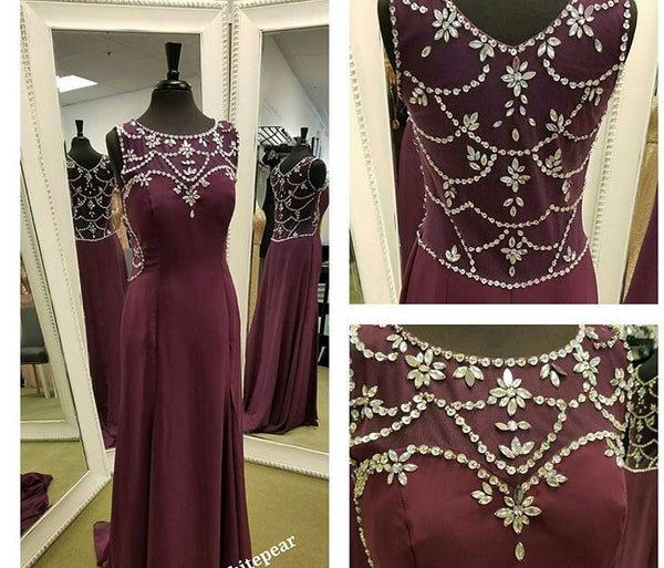 Fashion Prom Dresses,Sleeveless Prom Dress,Charming Prom Dress,Elegant Prom Dress,2017 Prom Dress,PD0062