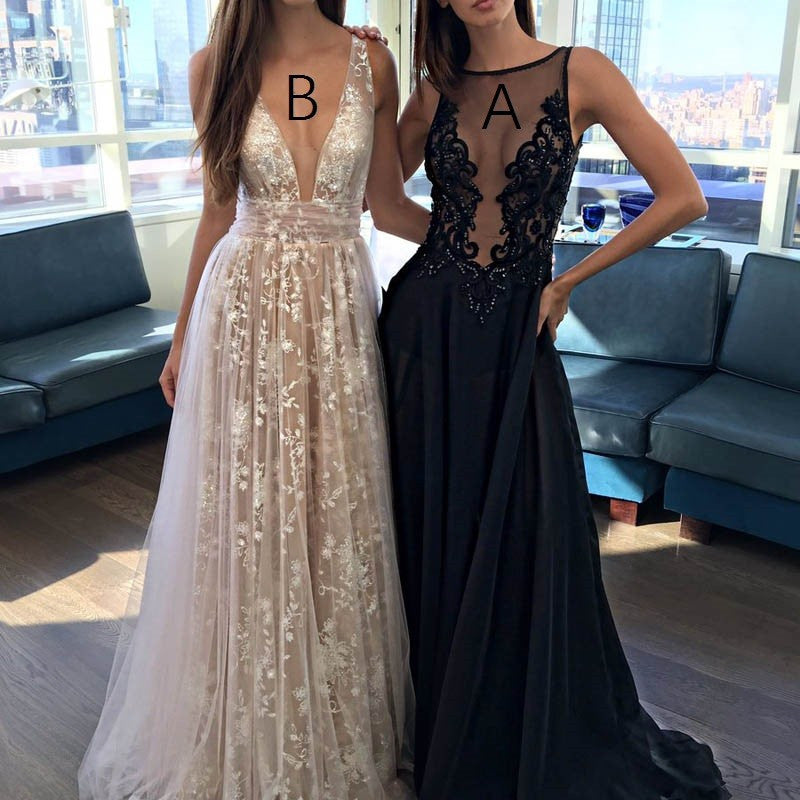 A-line Prom Dresses,Sexy Prom Dress,See-through Prom Dresses,New Arrival Prom Dress,Cheap Prom Dress,PD00100