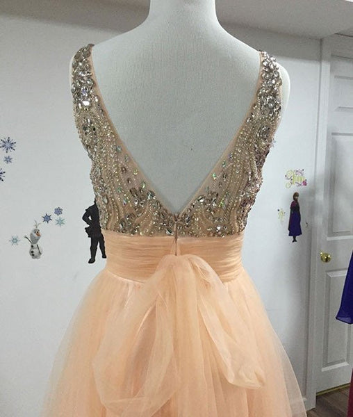 A-line Prom Dresses,Beading Prom Dress,Long Prom Dress,Cheap Prom Dress,High Quality Prom Dress,PD0090