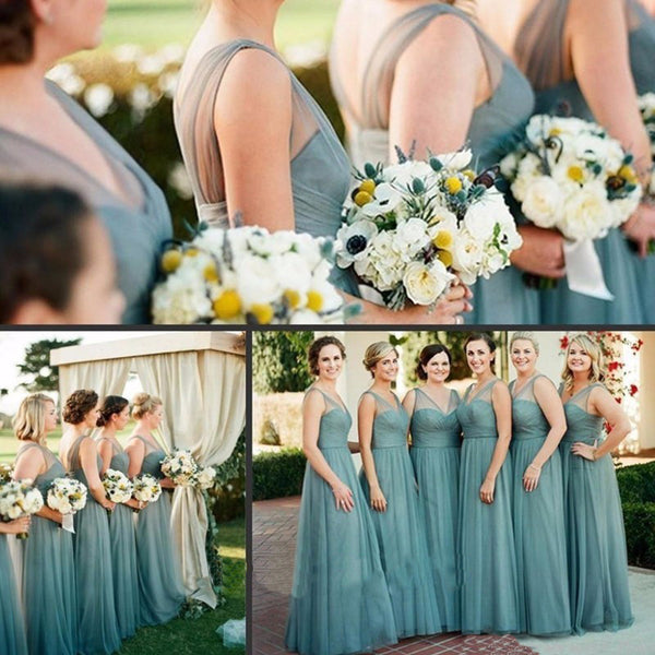 Simple Bridesmaid Dresses,A-line Bridesmaid Dress,V-neck Bridesmaid Dress,Cheap Bridesmaid Dresses,High Quality Bridesmaid Dress,PD0087
