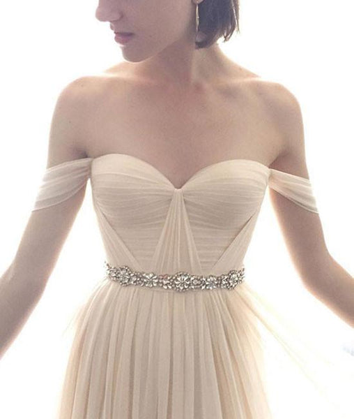 Simple Long Prom Dresses, Bridesmaid Dresses,PD4558977
