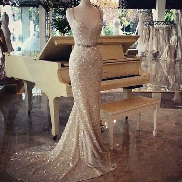 Charming Prom Dresses,Sparkle Prom Dress,Dresses For Prom,Mermaid Prom Dress,Evening Dress,BD390