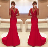 Sexy Prom Dresses,Deep V-neck Prom Dress,New Arrival Prom Dress,Long Prom Dress,Fashion Prom Dress,PD008