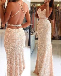 Sexy Prom Dress,Mermaid Prom Dresses,Sleeveless Evening Dresses,PD4558900