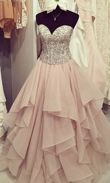 Sweetheart Prom Dresses,Off-shoulder Prom Dress,High Waist Prom Dresses,Cheap Prom Dress,Sparkle Prom Dresses,PD00243