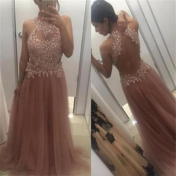 Appliques Prom Dresses,Back hollow Prom Dress,Tulle Prom Dresses,Sweetheart Prom Dress,2017 Cheap Prom Dresses,PD00248
