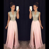 A-line Prom Dresses,Sparkly Prom Dress,2017 Prom Dresses,Luxurious Prom Dress,Cheap Prom Dresses,PD00137