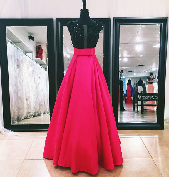 Beading Prom Dresses,A-line Prom Dress,Satin Prom Dresses,Sleeveless Prom Dress,Cheap Prom Dresses,PD00259