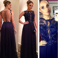 A-line Prom Dresses,Sleeveless Prom Dress,Royal Blue Prom Dresses,Charming Prom Dress,Cheap Prom Dresses,PD00278