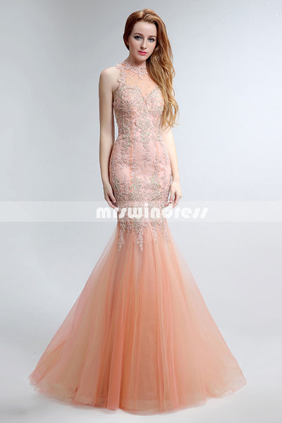 Simple Prom Dresses,Vintage Prom Gowns,long Evening Dress, Evening dresses,LX153