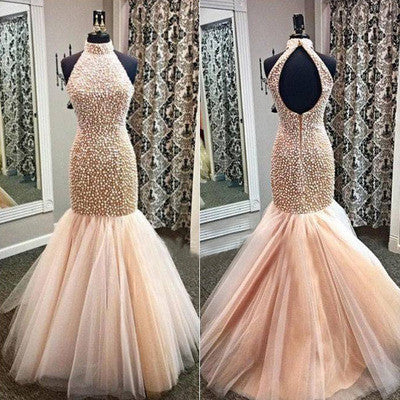 charming Prom Dress,long prom dress,mermaid prom dress,evening dress,BD702