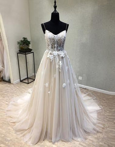 Sexy See Through A Line Lace Evening Prom Dresses, Popular Cheap Party Prom Dress, Custom Long Prom Dresses, Cheap Formal Prom Dresses,BD11254