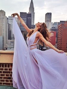 white Prom Dresses,Dresses For Prom,chiffon Prom Dress,party Dress,BD1678