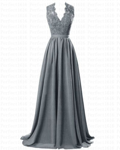 STOCK New Long Chiffon Formal Prom Party Ball Bridesmaid Evening Dresses,BD25467