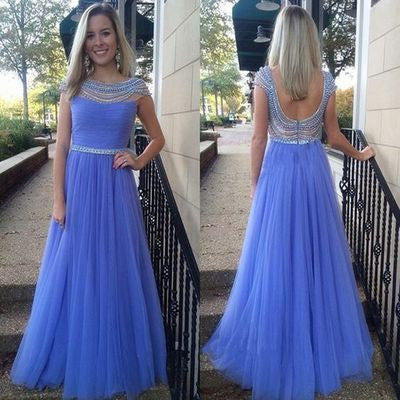 lavender Prom Dresses,tulle long prom dress,charming prom Dress,junior prom dress,evening dress for girls,BD2805