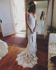 Romantic Wedding Dress,Lace Wedding Dress,Charming wedding Dress,Gorgeous Wedding Dress,2017 Wedding Dress,PD00151