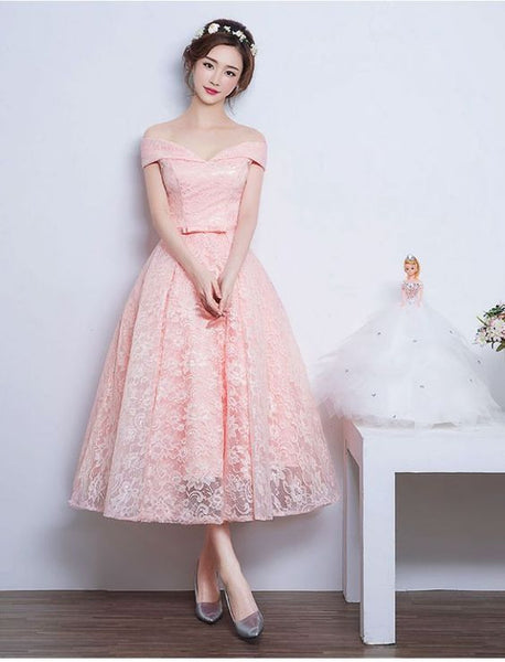 Sweetheart Prom Dresses,Audrey Hepburn Vintage Inspired Prom Dress,Long Prom Dress,A-line Prom Dress,Off-shoulder Prom Dress,PD0014