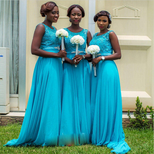 blue bridesmaid dress,long bridesmaid dress,elegant bridesmaid dress,new bridesmaid dress,BD1629