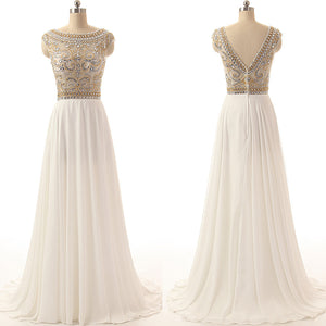 long prom dress,charming Prom Dress,white prom dress,2016 prom dress,formal party dress,BD1275